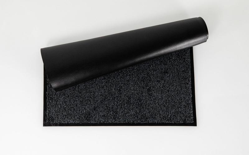 0627 Tapis Microfibre Gris 60x90cm